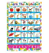 Sumbox Poster and Postal Tube - Know Your Alphabet