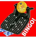 90 Ball Bingo Game with 24 Cards