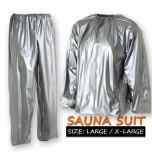 Sauna Suit - SIZE: Large / Extra Large