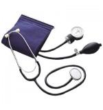 Sphygmomanometer + Stethoscope Blood Pressure Monitor Blue