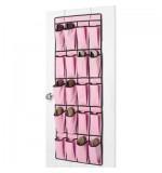 Hanging Shoe Organiser - Pink