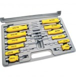 12PC Mechanics Screwdriver Set and Case