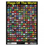 Sumbox Poster and Tube - Flags Of The World