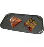 Carbon Steel Non-Stick Griddle Pan - 49 x 27cm