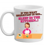 MUG - Breakfast In Bed - Sleep In The Kitchen