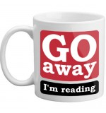 MUG - Go Away Im Reading
