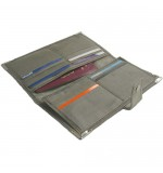 Stainless Steel RFID Blocking Wallet - Ladies
