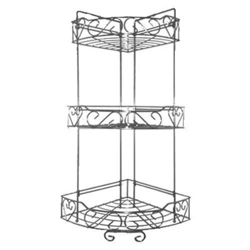 3 Tier Corner Shelves For Bathroom Shower Kitchen Caddy