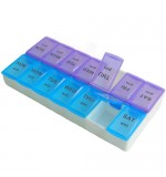 Pill Box - Two Strips - Purple and Blue