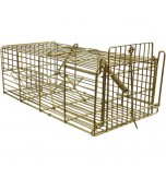 Rat Cage Trap - Galvanised - Gold