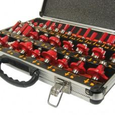 35 Piece Router Bit Set in Aluminium Case