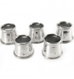 5 PIECE SET - Aluminium Loupe Eyeglass - 1-1.5-2-2.5-3