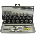 32 Piece HSS Tap and Die Set