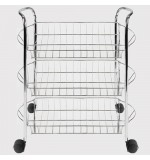 3 Tier Vegetable Storage Trolley