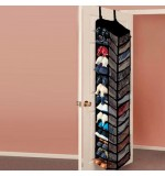 30 Pocket Shoe Organiser - Black