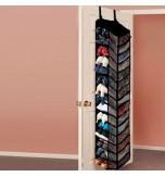 30 Pocket Shoe Organiser - Black