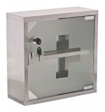 Wall Mounted First Aid Medical Cabinet - Glass Door