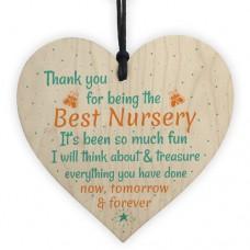 WOODEN HEART - 100mm - Best Nursery