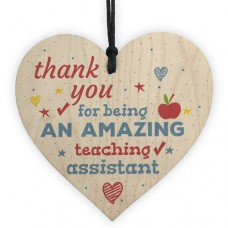 WOODEN HEART - 100mm - Amazing Teaching Assistant