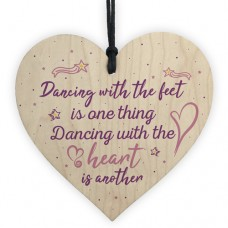WOODEN HEART - 100mm - Dancing With The Heart