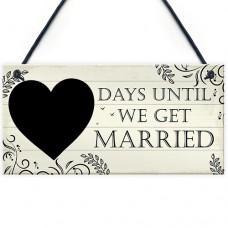 FP - 200X100 - Chalkboard Days Until We Get Married